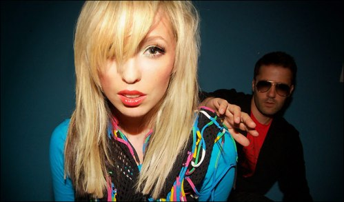 Katie White e Jules De Martino, a dupla The Ting Tings