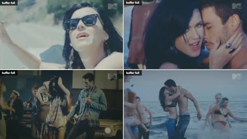 Katy Perry no vídeo clipe de Teenage Dream