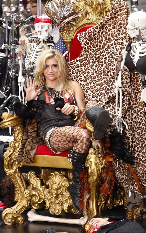 KE$HA no Today Show