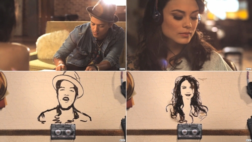 Clipe de Just The Way You Are, inspirado nos trabalhos de Erika Iris Simmons.