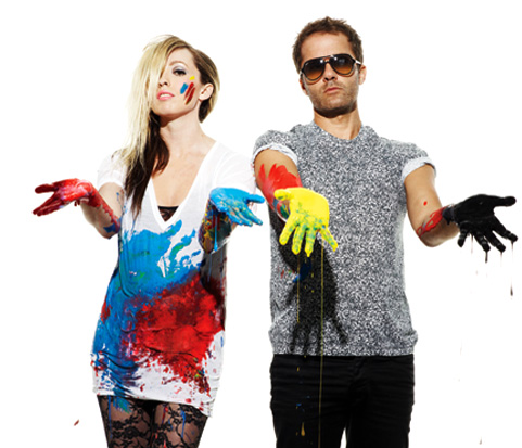 Katie e Jules, a dupla The Ting Tings.