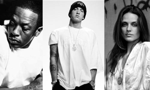 Dr. Dre, Eminem e Liz Rodrigues